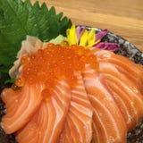 Il ikura di color salmone indossa Fotografie Stock