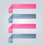 Il infographics di affari cataloga il modello per la presentazione, l'istruzione, il web design, l'insegna, l'opuscolo, aletta di Fotografie Stock