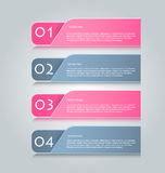 Il infographics di affari cataloga il modello per la presentazione, l'istruzione, il web design, l'insegna, l'opuscolo, aletta di Immagini Stock