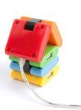 Il Internet, casa connette. immagini stock libere da diritti