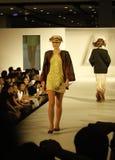 Il italiana di Accademia team in su f.fashion Immagine Stock Libera da Diritti