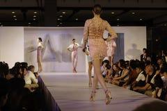 Il italiana di Accademia team in su f.fashion Immagini Stock Libere da Diritti