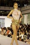 Il italiana di Accademia team in su f.fashion Fotografia Stock Libera da Diritti