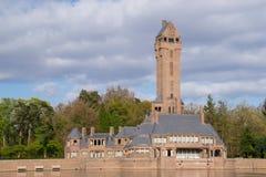 Il Jachtslot Sint Hubertus Castle in Olanda Fotografie Stock Libere da Diritti