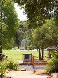 Il Jardim Marechal Carmona fa il giardinaggio in Cascais Portogallo Fotografia Stock