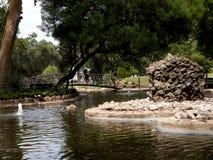Il Jardim Marechal Carmona fa il giardinaggio in Cascais Portogallo Immagini Stock