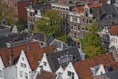 Il Jordaan Amsterdam Fotografie Stock Libere da Diritti