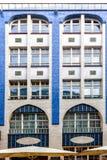Il Jugendstil - Art Nouveau - architettura del Hackescher uff Immagini Stock Libere da Diritti
