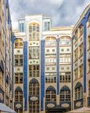 Il Jugendstil - Art Nouveau - architettura del Hackescher uff Immagine Stock