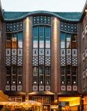 Il Jugendstil - Art Nouveau - architettura del Hackescher uff Fotografia Stock