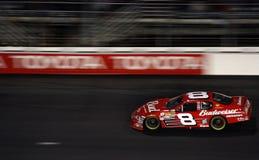 Il junior di NASCAR Earnhardt è una sfuocatura Fotografia Stock Libera da Diritti