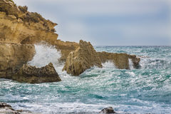 IL-Kalanka κόλπος, Μάλτα Στοκ Φωτογραφία