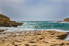 IL-Kalanka κόλπος, Μάλτα Στοκ Εικόνα