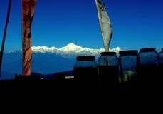 Il kanchanzonga Fotografie Stock Libere da Diritti