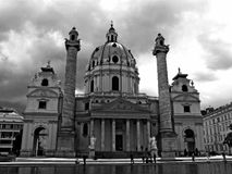 Il Karlskirche Fotografia Stock Libera da Diritti