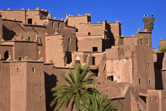 Il kasbah di Ouarzazate Fotografia Stock Libera da Diritti