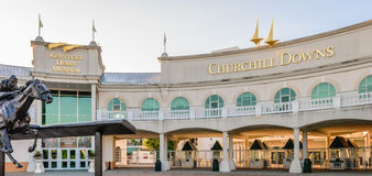 Il Kentucky Derby Museum - Churchill Downs fotografie stock libere da diritti
