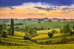 Il Kentucky rurale Immagini Stock Libere da Diritti