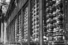 Il khmer dell'architettura di Angkor rovina la storia immagini stock