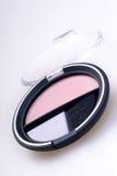 Il kit del rossetto arrossisce polvere Immagini Stock