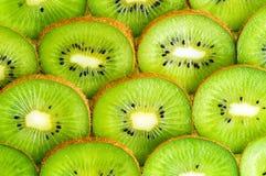Il Kiwi affetta la priorità bassa Immagini Stock Libere da Diritti