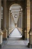 Il kolonada di Mlynska a Karlovy varia Fotografia Stock Libera da Diritti