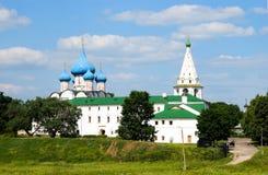Il Kremlin, cattedrale di natale Immagini Stock