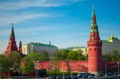 Il Kremlin a Mosca Fotografia Stock Libera da Diritti