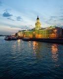 Il Kunstkamera di St Petersburg Immagine Stock Libera da Diritti
