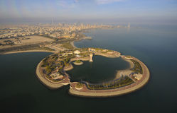 Il Kuwait dal cielo Immagine Stock