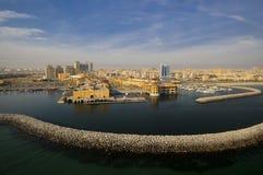 Il Kuwait dal cielo Immagini Stock Libere da Diritti