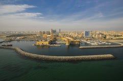 Il Kuwait dal cielo Fotografie Stock