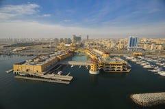 Il Kuwait dal cielo Fotografia Stock