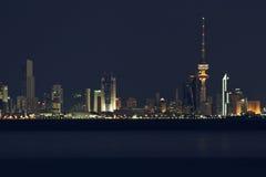 Il Kuwait: Orizzonte di Kuwait City Fotografia Stock Libera da Diritti
