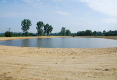 Il lago fotografie stock libere da diritti