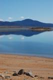 Il lago Fotografia Stock