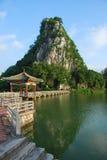 Il lago 4 star (Zhaoqing, in Cina) fotografie stock