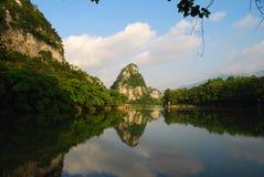 Il lago 5 star (Zhaoqing, in Cina) fotografie stock