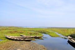 Il lago Immagine Stock