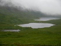 Il lago Airdeglais, isola di sciupa Immagine Stock