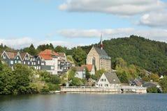 Il lago artificiale Beyenburger Immagine Stock
