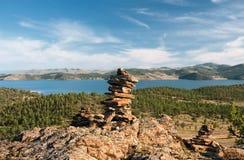 Il lago Baikal fotografia stock libera da diritti