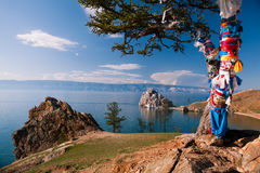 Il lago Baikal Fotografia Stock