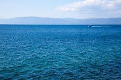 Il lago Baikal Siberia fotografie stock libere da diritti
