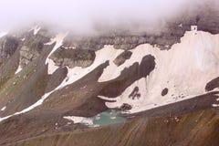 Il lago bianco Abudelauri (Georgia) Immagini Stock Libere da Diritti