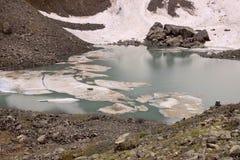 Il lago bianco Abudelauri (Georgia) Immagine Stock Libera da Diritti