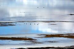 Il lago del plateau Fotografia Stock Libera da Diritti