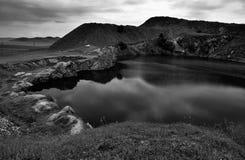 Il lago delle pietre Immagine Stock Libera da Diritti