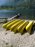 Il lago di Bohinj in Slovebia Fotografia Stock Libera da Diritti