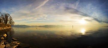 Il lago di Costanza Fotografie Stock Libere da Diritti